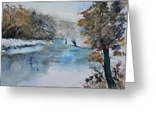 Watercolor 511003 Greeting Card