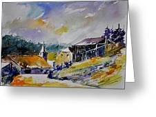 Watercolor Baillamont Greeting Card