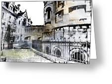 Watercolor Paris Greeting Card
