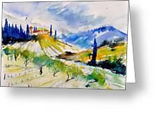 Watercolor Toscana 317040 Greeting Card