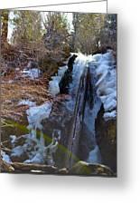 Waterfall 2 Greeting Card