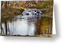 Waterfall At Bonneyville Greeting Card