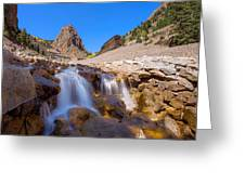 Waterfall At The Commodore Greeting Card