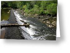 Waterfall At West Point II Greeting Card