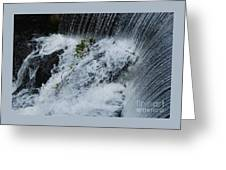 A Waterfall In Bantry, Ireland Greeting Card