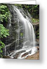 Waterfall Bay Of Fundy Greeting Card
