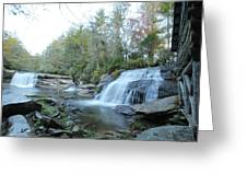 Waterfall Country Greeting Card
