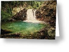 Waterfall Dreaming Greeting Card