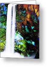 Waterfall Enchantment II Greeting Card