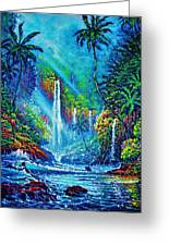 Waterfall Greeting Card by Joseph   Ruff