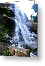 Waterfall  Greeting Card by Kiara Reynolds
