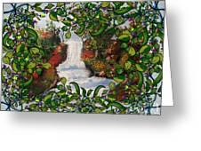 Waterfall - Kinetic Energy Greeting Card