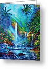 waterfall lV Greeting Card