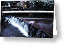 Waterfall New Hope Pa Greeting Card