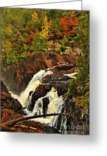 Waterfall Quebec 2 Greeting Card