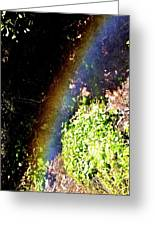 Waterfall Rainbow Greeting Card