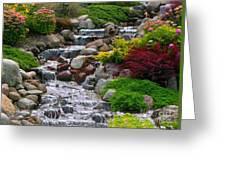 Waterfall Greeting Card by Tom Prendergast
