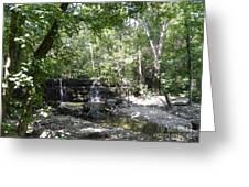 Waterfall Trail Greeting Card