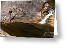 Waterfall - Vital Cascade Greeting Card