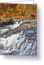 Waterfalls At Fishkill Creek Greeting Card
