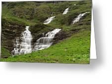Waterfalls Galore Greeting Card