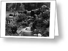 Waterfalls On The Mr J B Van Sciver Estate Greeting Card