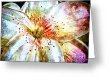 Waterflower Greeting Card