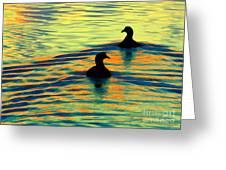 Waterfowl Greeting Card