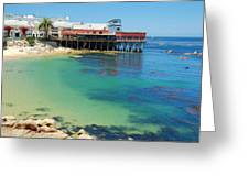 Waterfront At Cannery Row Greeting Card
