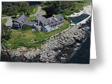 Waterfront Estate, Cape Elisabeth Greeting Card