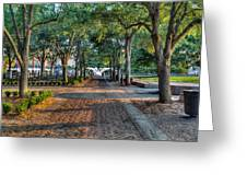Waterfront Park Greeting Card