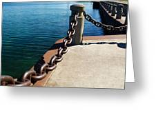 Waterfront Trail Greeting Card