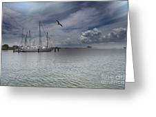 Waterfront View  Greeting Card