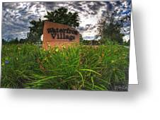 Waterfront Village Greeting Card