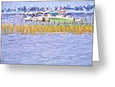 Watergrasses Greeting Card