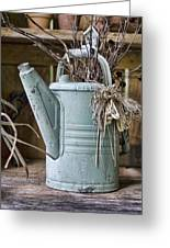 Watering Can Pot Greeting Card