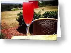 Watermelon Landscape Greeting Card