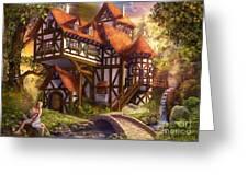 Watermill Greeting Card