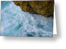 Waters Edge At Waianae Greeting Card