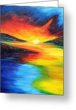 Waters Of Home Greeting Card