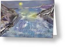 Waterway Rush Greeting Card