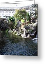 Waterway View Inside The Opryland Hotel In Nashville Tennessee In 2009 Greeting Card