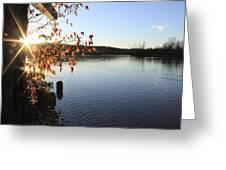 Waterways River View Greeting Card
