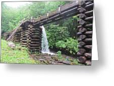 Waterwork Greeting Card