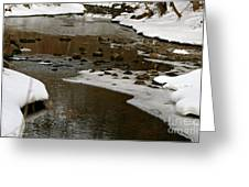 Watery Trail Greeting Card