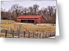 Watkins Mill Barn Greeting Card