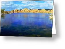 Watson Lake #2 Greeting Card by Richard Henne