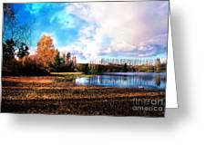 Waughop Lake Greeting Card