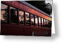 Waukewan Train Greeting Card