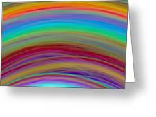 Wave-06 Greeting Card